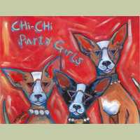 Chi Chi Party Girls Chihuahua Print
