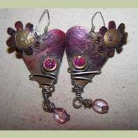 Hearts & Flowers Earrings