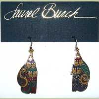 Laurel Burch Kindred Cats Earrings