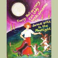 Not So Crazy Cat Lady Series 4: Dancing in the Moonlight