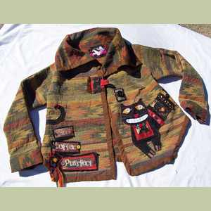 Cats Coffee Purrfect Tapestry Jacket Cat Art Jacket