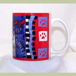 Peppers What Peppers coffee mug Artistic Coffee Mug