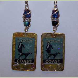 Gold Coast Greyhound Earrings Greyhound Earrings