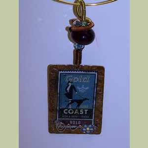 Gold Coast Greyhound Pendant Greyhound Pendant