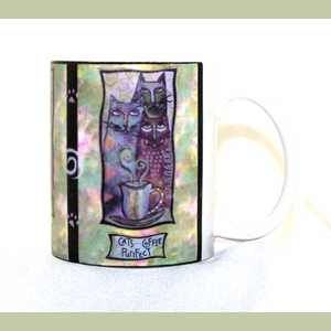 Cats Coffee Purrfect coffee cup Coffee Cup Is High And Diameter