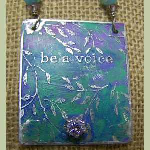 Be A Voice Rescue Necklace Animal Rescue Necklace